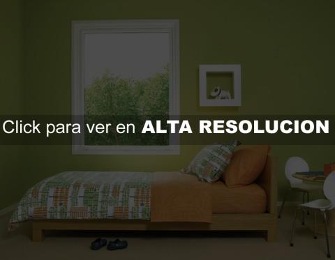 Dormitorios Verdes