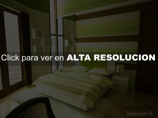 dormitorios color verde